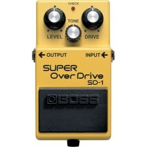 Педаль BOSS SD-1 Super OverDrive для электрогитары
