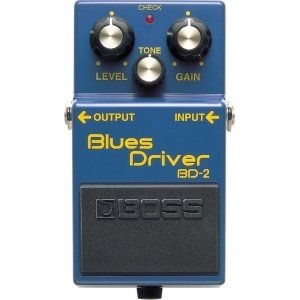 Педаль BOSS BD-2 Blues Driver для электрогитары