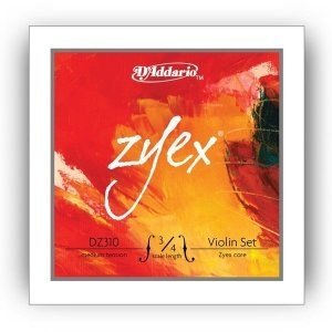 Струны для скрипки D'ADDARIO DZ310 3/4M Zyex, medium