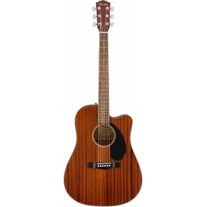 FENDER CD-60SCE All-Mahogany электроакустическая гитара