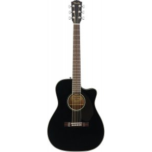 FENDER CC-60SCE Black электроакустическая гитара