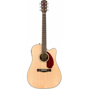 FENDER CD-140SCE Natural + Кейс электроакустическая гитара
