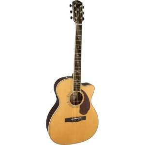 Электроакустическая гитара FENDER PM-3 Deluxe Triple-0 Natural + Кейс